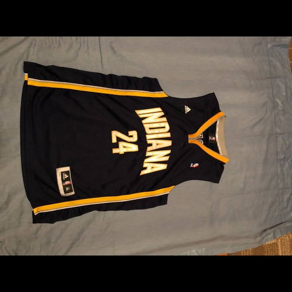 Early Paul George Road Jersey IND. Pacers NBA wow